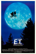 """Movie Posters:Science Fiction, E.T. The Extra-Terrestrial (Universal, 1982). One Sheet (26.75"""" X 40.5"""") Bicycle Style.. ..."""