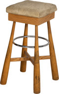 Baseball Collectibles:Bats, 1965-68 Professional Model Bat Stool - With Early Career Pete Rose, Mazeroski, etc.... (Total: 4 item)