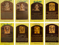 Autographs:Others, 1970's-2010's Hall of Famers Signed Postcards Lot of 78....
