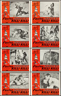 "Movie Posters:Sexploitation, Faster, Pussycat! Kill! Kill! (Eve Productions, 1965). Lobby Card Set of 8 (11"" X 14"").. ..."