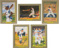 """Baseball Collectibles:Others, 1985-97 Perez-Steele """"Great Moments Postcard Set of 106 is Signed by 44...."""