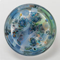 Art Glass, Richard Ritter (American, born 1940). Bowl from the GrailSeries, 1994. Blown murrine glass. 3-3/4 x 8-1/2 inches (9.5x...