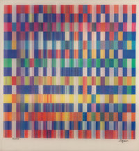 Yaacov Agam (Israeli, born 1928) BB #4 Constellation and Untitled (two works), n.d. Agamographs 1