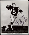 Autographs:Photos, 1962 Bart Starr Signed Team Issued Photograph....