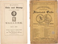 Books, [U.S. Numismatic Auction Catalogues]. Early U.S. Numismatic AuctionCatalogues. Includes: copies of Cogan's first sale and h...