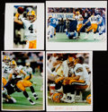Football Collectibles:Photos, 1992 Brett Favre Early-Career Green Bay Packers Images....