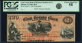 Obsoletes By State:Iowa, Marion, IA- Linn County Bank-Winslow, Stephens & Co. $2 Apr. 5, 1861 Oakes 93-2 (2015) Remainder PCGS Choice About New 58....