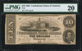 Confederate Notes:1862 Issues, T52 $10 1862 PF-26 Cr.-UNL PMG Very Fine 20.. ...