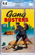 Golden Age (1938-1955):Crime, Four Color (Series One) #23 Gang Busters - Mile High Pedigree (Dell, 1942) CGC NM 9.4 White pages....