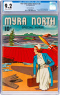 Golden Age (1938-1955):Adventure, Four Color (Series One) #3 Myra North Special Nurse - Mile High Pedigree (Dell, 1940) CGC NM- 9.2 Off-white to white pages....