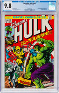 Bronze Age (1970-1979):Superhero, The Incredible Hulk #181 (Marvel, 1974) CGC NM/MT 9.8 White pages....