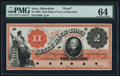 Obsoletes By State:Iowa, Muscatine, IA- State Bank of Iowa, Muscatine Branch $2 18__ Proofas G238, Oakes 103-7 (2015) PMG Choice Uncirculated 64, ...
