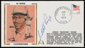 Autographs:Letters, Satchel Paige Signed First Day Cover. ...