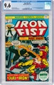 Iron Fist #1 (Marvel, 1975) CGC NM+ 9.6 White pages