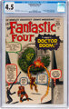 Fantastic Four #5 (Marvel, 1962) CGC VG+ 4.5 Off-white to white pages