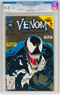Venom: Lethal Protector #1 (Gold Variant) (Marvel, 1993) CGC NM/MT 9.8 White pages