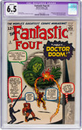 Silver Age (1956-1969):Superhero, Fantastic Four #5 (Marvel, 1962) CGC Apparent FN+ 6.5 Whitepages....