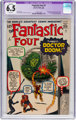 Fantastic Four #5 (Marvel, 1962) CGC Apparent FN+ 6.5 White pages