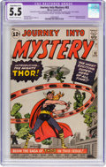 Silver Age (1956-1969):Superhero, Journey Into Mystery #83 (Marvel, 1962) CGC Apparent FN- 5.5Off-white to white pages....