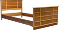 Furniture , Paul Frankl (American, 1886-1958). Twin Bed from the Station Wagon Series, circa 1945, Johnson Furniture Co. . Mahogany,...