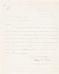 Books, Proskey, David. Letter to David Proskey from the Acting Secretaryof the Treasury, Confiscating a $10 Treasury Note. The let...