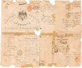 Books, [Clay, Henry]. Original United States Passport Issued in 1828 by Henry Clay as Secretary of State. ...
