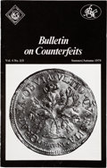 Books, International Bureau for the Suppression of Counterfeit Coins /International Association of Professional Numismatists.Bull...