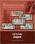 Books, Smythe/Spink Smythe. The Herb and Martha Schingoethe ObsoleteCurrency Collection. Ten of the 18 volumes: Nos. 1-9 and 1...