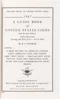 Books, Yeoman, R.S. A Guide Book of United States Coins. Racine,1966. 20th [1967] edition. 12mo, original plain red leatherett...