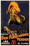 Movie Posters:Science Fiction, The Lost World (First National, 1925). Danish One ...