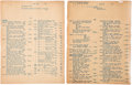 Books, Johnson, Burdette G. Invoices for Coins, 1940-1947. ...(Total: 7 coins)