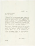 Books, Newman, Eric P. Correspondence with Kenneth Bressett. ...