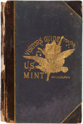 Books, Smith, A.M. Visitor's Guide and History of the United States Mint, Philadelphia.. Philadelphia, 1885. 8vo, original brow...