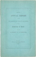 Books, Association of Banks for the Suppression of Counterfeiting. Annual Reports of the Board of Managers of the Association of Ba...