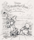 Animation Art:Concept Art, Winnie the Pooh Storybook Cover Concept Art by Carson VanOsten Group (Walt Disney, c. 2000s)... (Total: 15 Items)