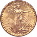 Saint-Gaudens Double Eagles, 1914-D $20 MS65 NGC. CAC....