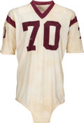 Football Collectibles:Uniforms, 1964 Sam Huff Game Worn Washington Redskins Jersey--Photo Matched!...