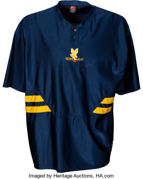 4afcfb1bcf5 ... Basketball Collectibles:Uniforms, Circa 2003 Dwyane Wade Game Worn  & Signed Marquette GoldenEagles ...
