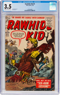 Rawhide Kid #6 (Marvel, 1956) CGC VG- 3.5 Cream to off-white pages