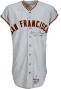 Baseball Collectibles:Uniforms, 1969 Willie McCovey Game Worn & Signed San Francisco Giants Jersey--MVP Season!...