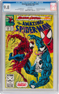 Modern Age (1980-Present):Superhero, The Amazing Spider-Man #378 (Marvel, 1993) CGC NM/MT 9.8 White pages....