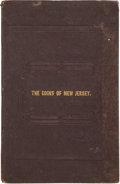 Books, Maris, Edward. A Historic Sketch of the Coins of NewJersey, with a Plate. Containing Specimens of the MarkNewbie Cop...