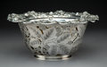 Silver & Vertu:Hollowware, A Tiffany & Co. Reticulated Silver Berry Bowl with Silver Soldered Liner, New York, circa 1904-1907. Marks: TIFFANY & CO.,...