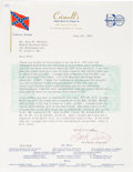 Books, Newman, Eric P. Correspondence with Grover C. Criswell. ...