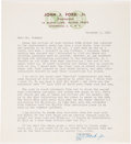 Books, Newman, Eric P. Correspondence with John J. Ford, Jr. ...