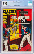 Golden Age (1938-1955):Classics Illustrated, Classics Illustrated #74 Mr. Midshipman Easy (Gilberton, 1950) CGC FN/VF 7.0 Cream to off-white pages....