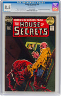 Bronze Age (1970-1979):Horror, House of Secrets #98 (DC, 1972) CGC VF+ 8.5 Off-white pages....