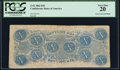 Confederate Notes:1862 Issues, T52 $10 1862 PF21IB Cr. 375IB PCGS Very Fine 20.. ...