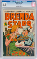 Golden Age (1938-1955):Crime, Brenda Starr V2#7 (Superior Comics, 1949) CGC FN+ 6.5 Off-white to white pages....