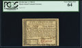 Colonial Notes:Rhode Island, Rhode Island July 2, 1780 $3 PCGS Very Choice New 64.. ...